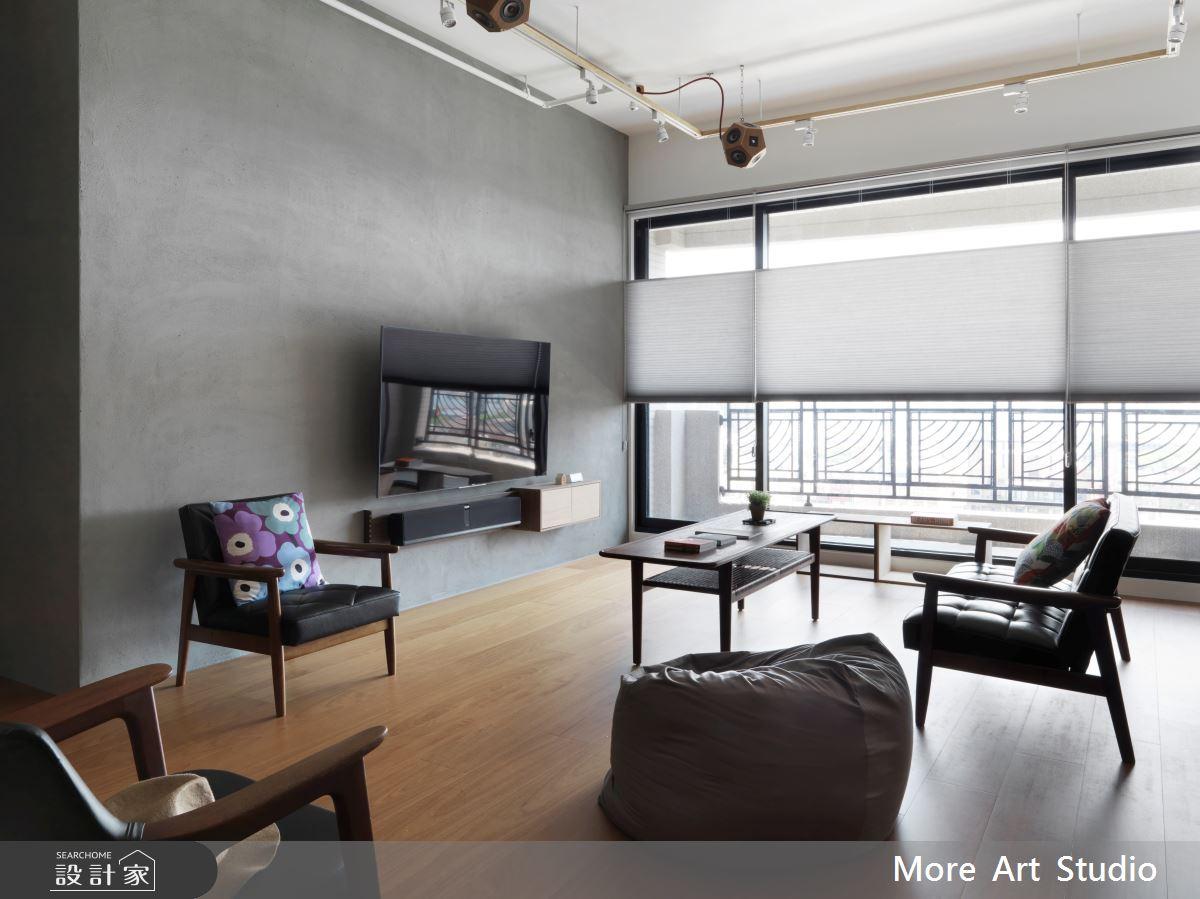 35坪新成屋(5年以下)_北歐風客廳案例圖片_木耳生活藝術_木耳_12之3