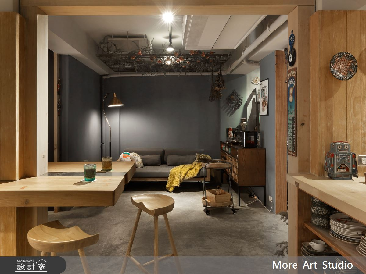 34坪老屋(16~30年)_療癒風商業空間案例圖片_木耳生活藝術_木耳_13之15
