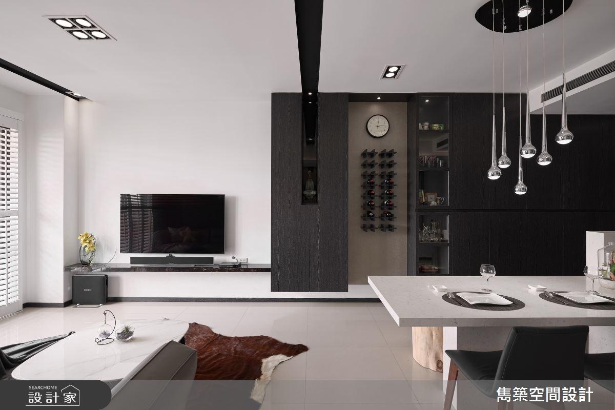 22坪預售屋_現代風客廳餐廳案例圖片_雋築空間設計_雋築_05之8