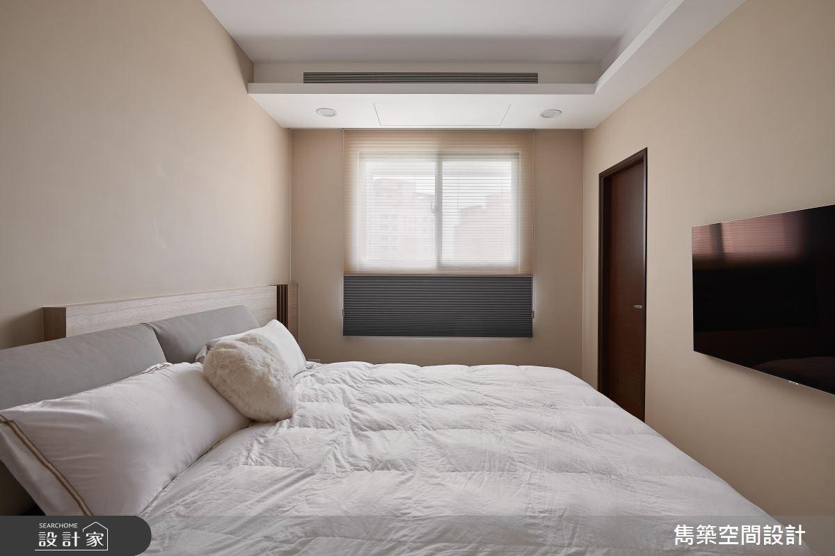 22坪預售屋_現代風臥室案例圖片_雋築空間設計_雋築_05之13