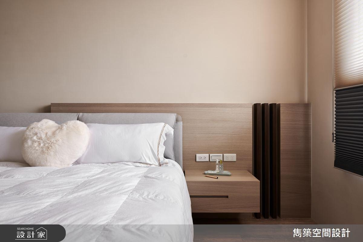 22坪預售屋_現代風臥室案例圖片_雋築空間設計_雋築_05之15