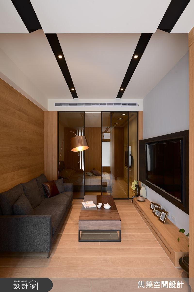 17坪中古屋(5~15年)_現代風客廳案例圖片_雋築空間設計_雋築_09之4