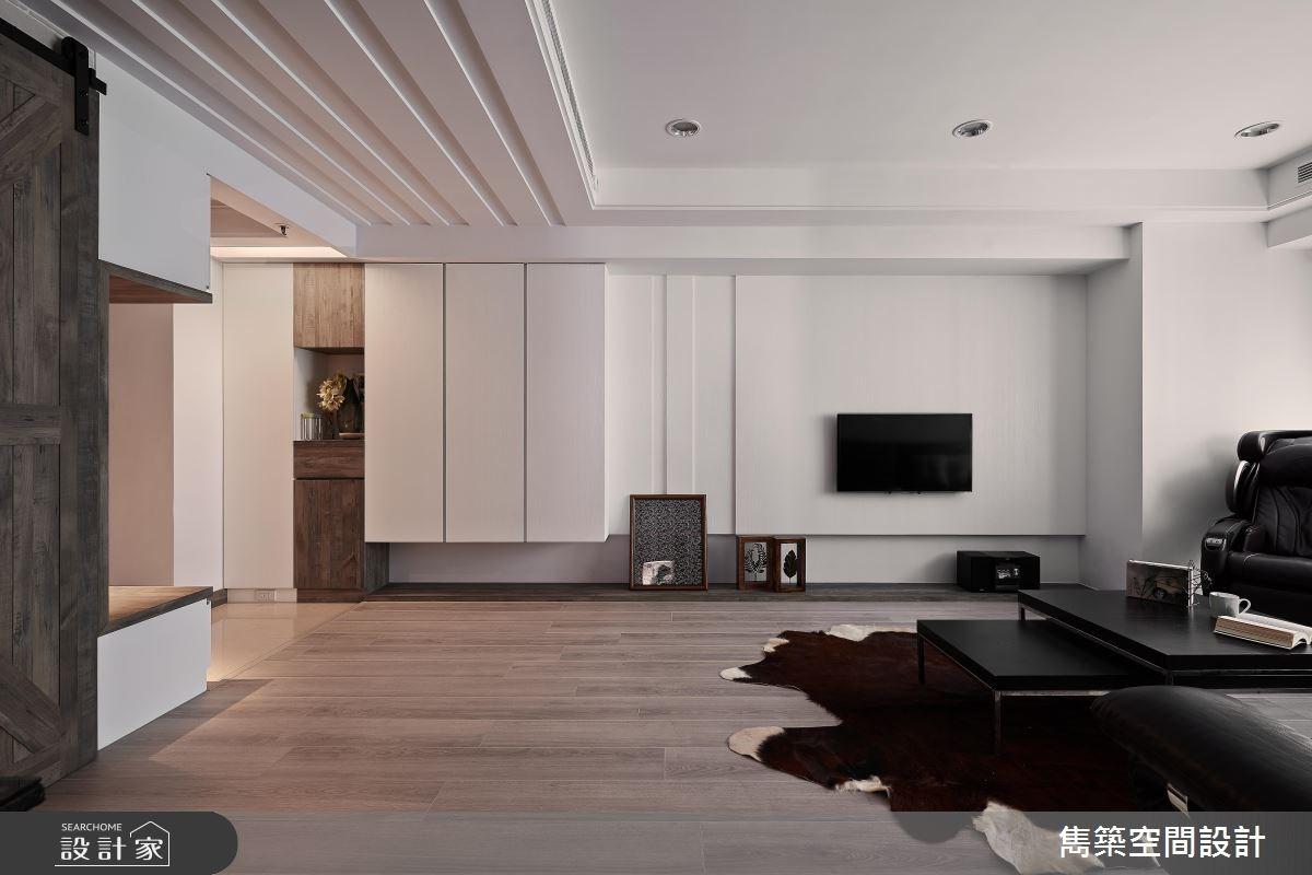 25坪中古屋(5~15年)_北歐風客廳案例圖片_雋築空間設計_雋築_15之2