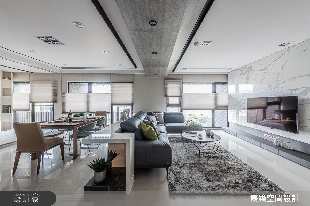 43坪新成屋(5年以下)_現代風案例圖片_雋築空間設計_雋築_18之3