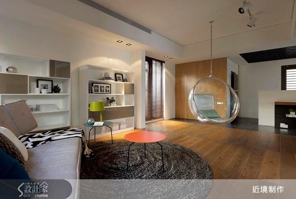 41坪新成屋(5年以下)_北歐風客廳案例圖片_近境制作_近境制作_28之3
