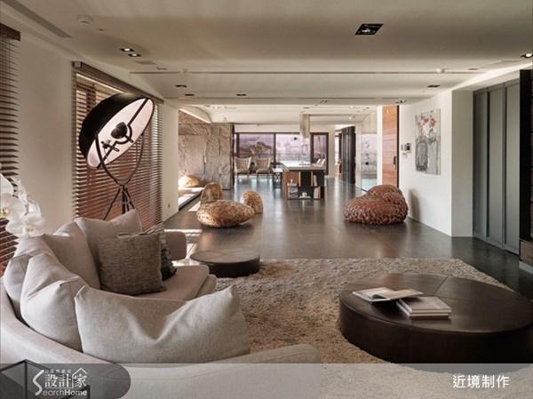 140坪新成屋(5年以下)_休閒風客廳案例圖片_近境制作_近境制作_32之1