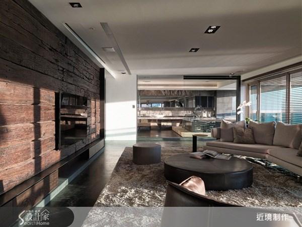 140坪新成屋(5年以下)_休閒風客廳案例圖片_近境制作_近境制作_32之2