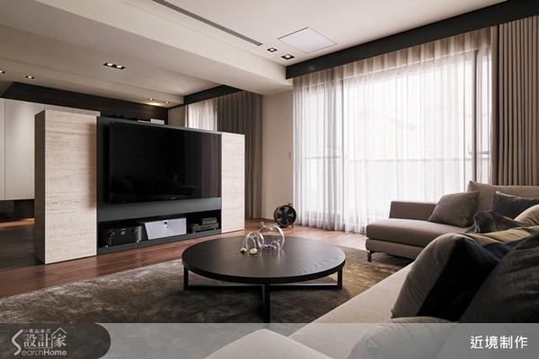 45坪新成屋(5年以下)_現代風客廳案例圖片_近境制作_近境制作_37之4