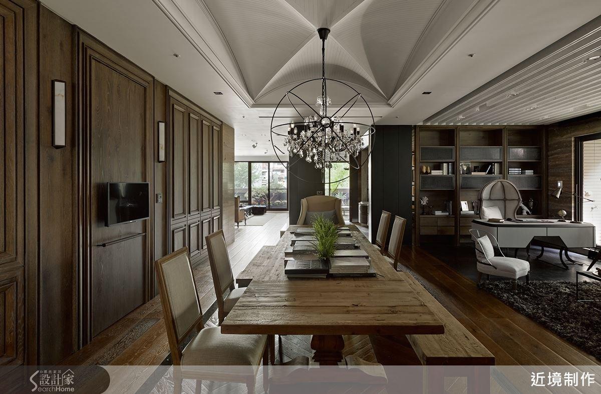 85坪老屋(16~30年)_新古典餐廳案例圖片_近境制作_近境制作_45之4