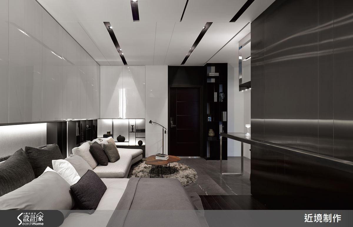 10坪_現代風客廳臥室案例圖片_近境制作_近境制作_50之2