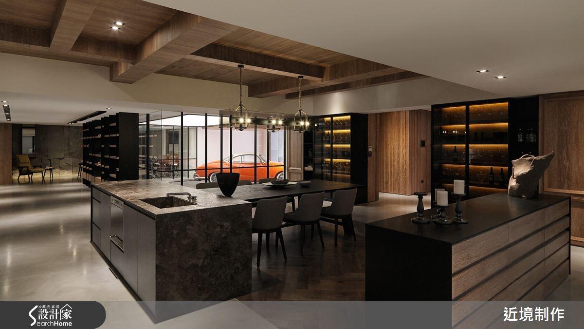 166坪新成屋(5年以下)_現代風餐廳案例圖片_近境制作_近境制作_56之1