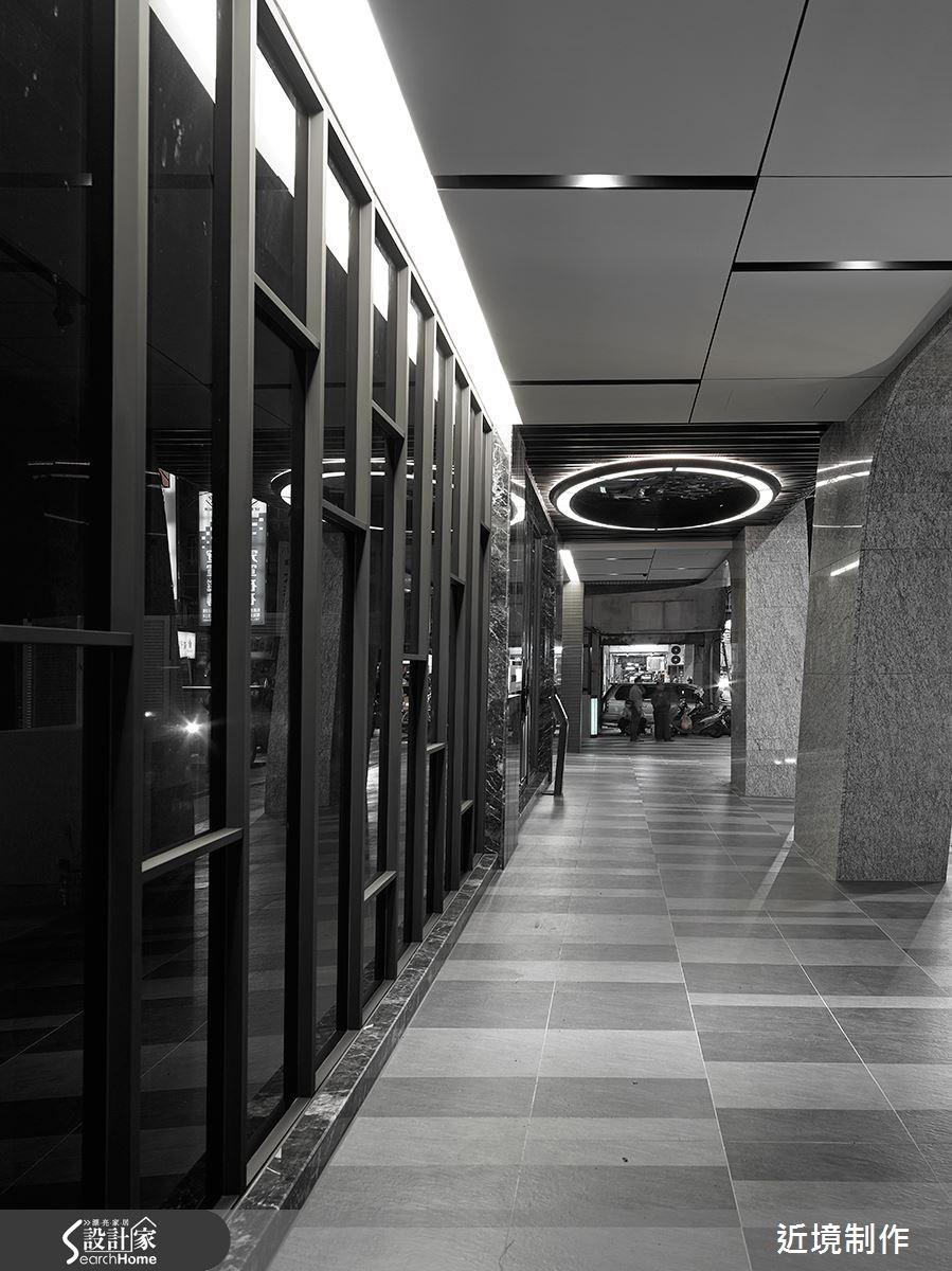 250坪新成屋(5年以下)_奢華風走廊案例圖片_近境制作_近境制作_60之3