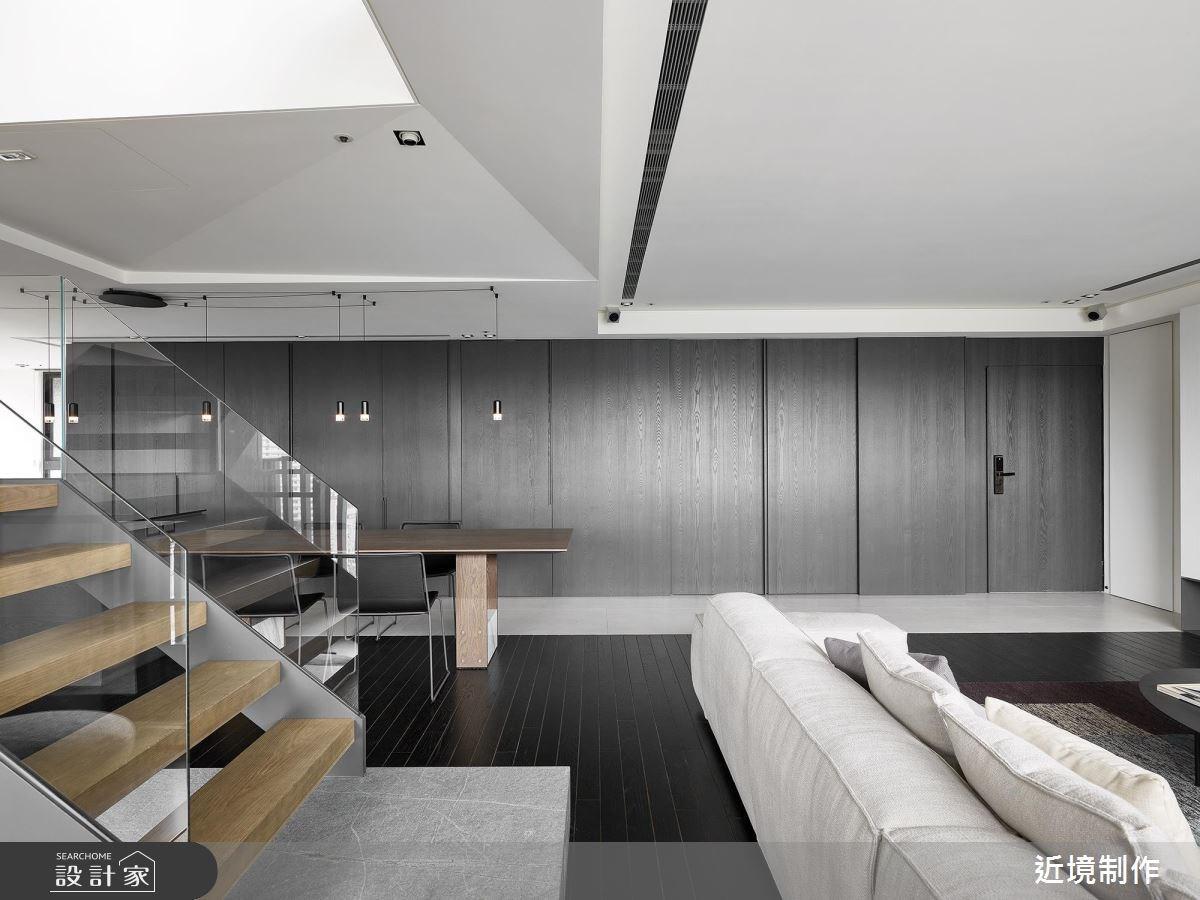 60坪_現代風客廳樓梯案例圖片_近境制作_近境制作_74之3