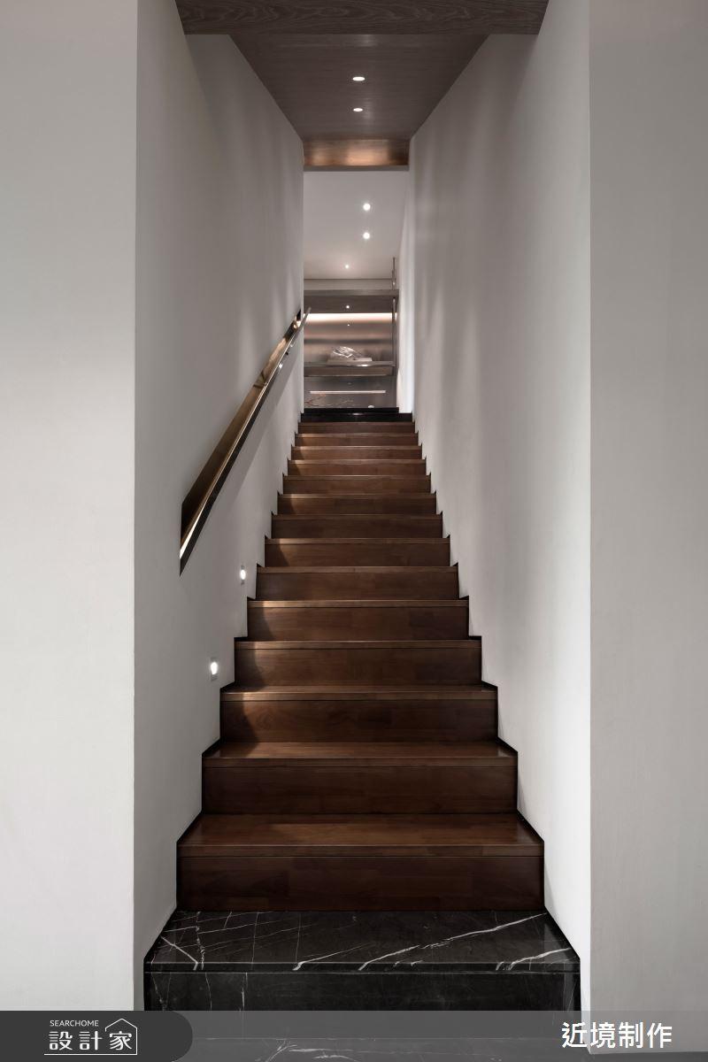 45坪新成屋(5年以下)_人文風樓梯案例圖片_近境制作_近境制作_86之15