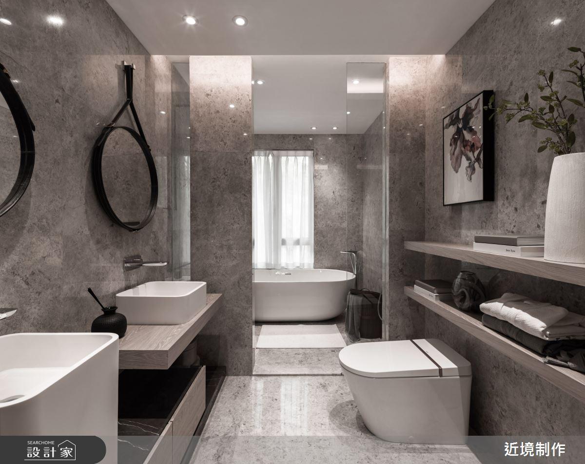 45坪新成屋(5年以下)_人文風浴室案例圖片_近境制作_近境制作_86之18