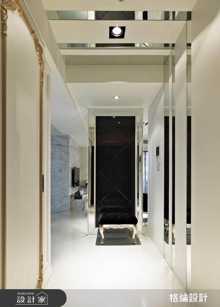 33坪新成屋(5年以下)_新古典玄關案例圖片_格綸設計 Guru Interior Design Consultant_格綸_02之1