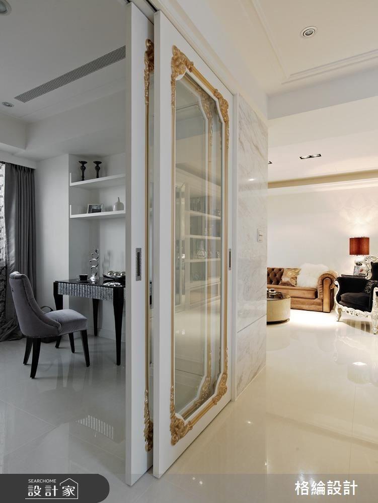 33坪新成屋(5年以下)_新古典書房案例圖片_格綸設計 Guru Interior Design Consultant_格綸_02之9