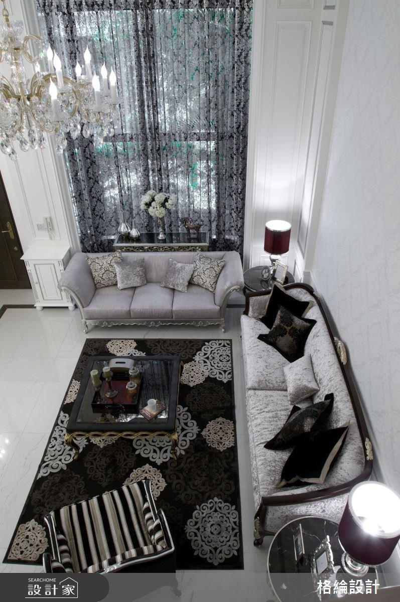 180坪中古屋(5~15年)_新古典客廳案例圖片_格綸設計 Guru Interior Design Consultant_格綸_04之3