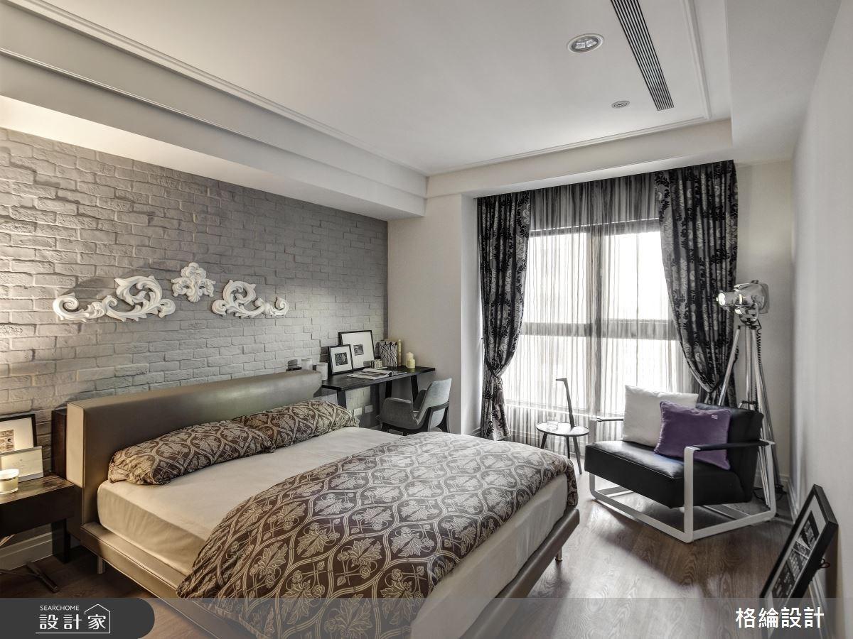 45坪新成屋(5年以下)_新古典臥室案例圖片_格綸設計 Guru Interior Design Consultant_格綸_05之11