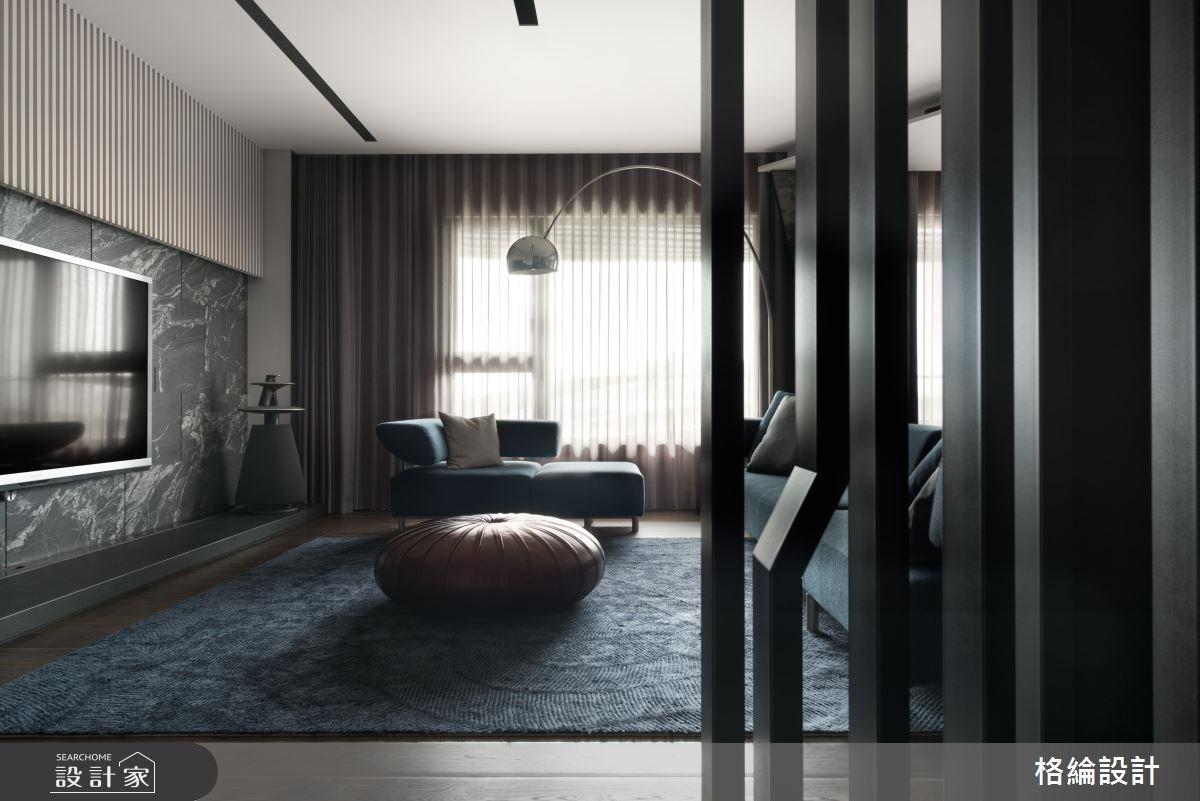 68坪新成屋(5年以下)_現代風客廳案例圖片_格綸設計 Guru Interior Design Consultant_格綸_06之2