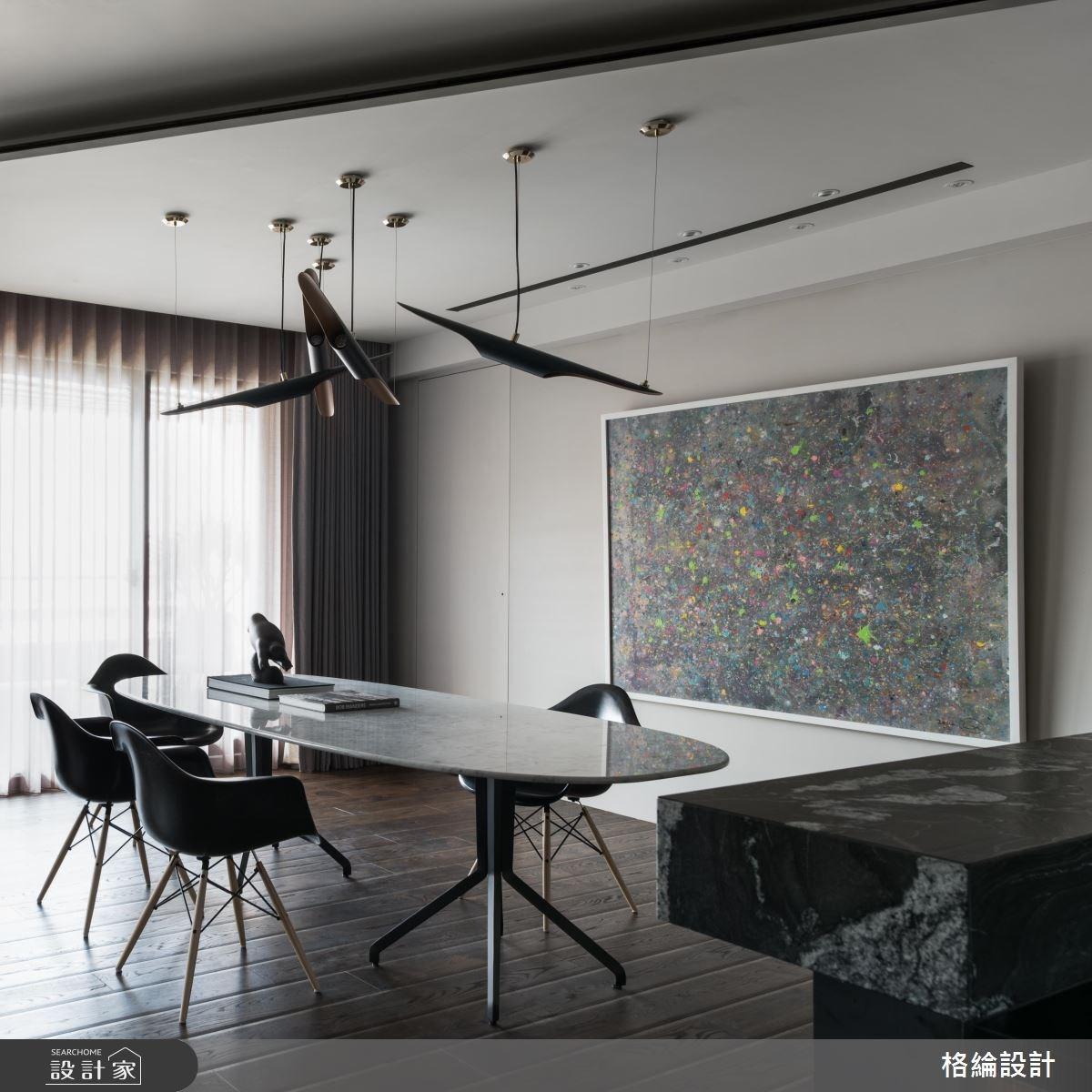 68坪新成屋(5年以下)_現代風餐廳案例圖片_格綸設計 Guru Interior Design Consultant_格綸_06之6