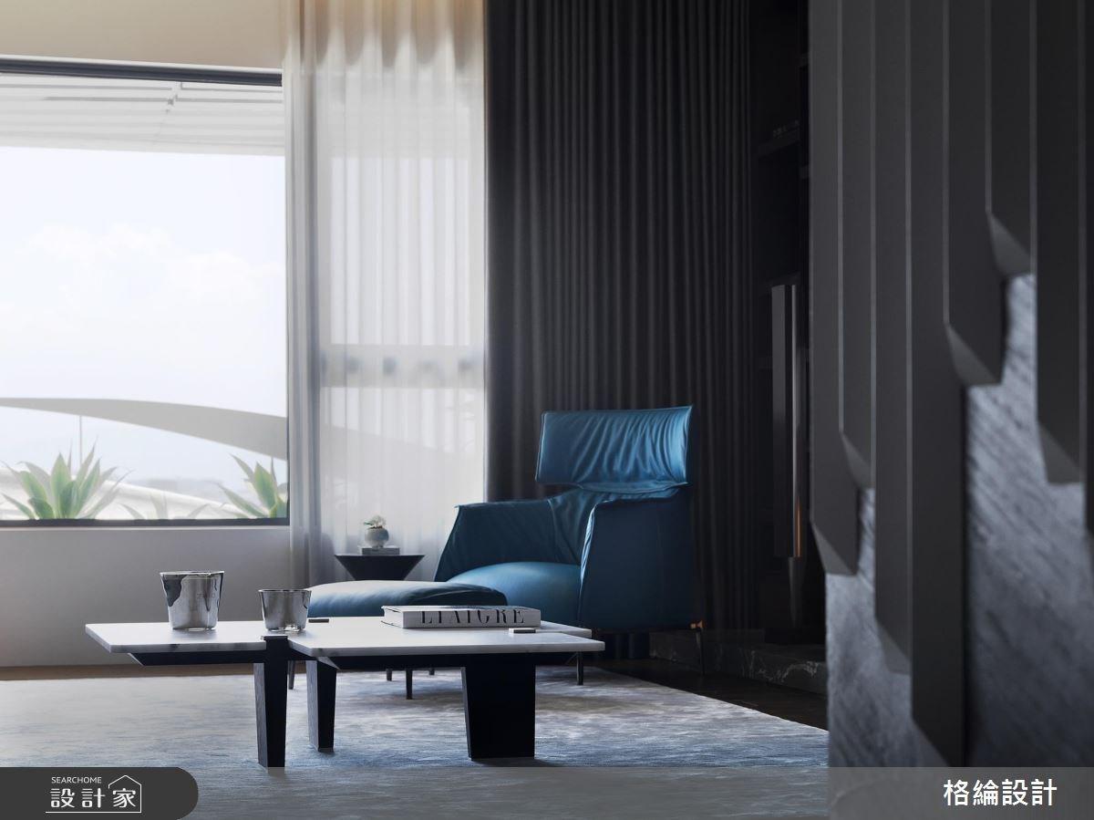 68坪新成屋(5年以下)_奢華風客廳案例圖片_格綸設計 Guru Interior Design Consultant_格綸_07之2