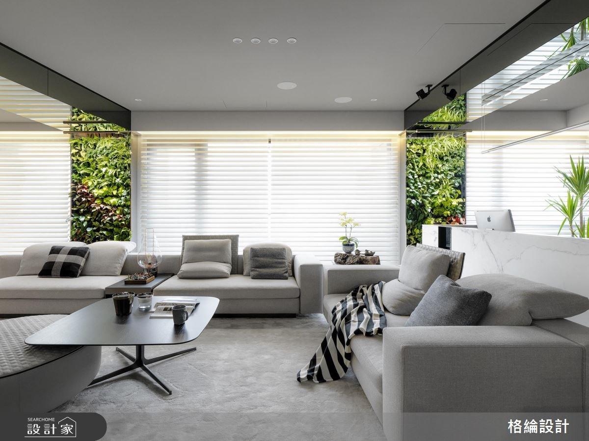 70坪新成屋(5年以下)_現代風客廳案例圖片_格綸設計 Guru Interior Design Consultant_格綸_08之4