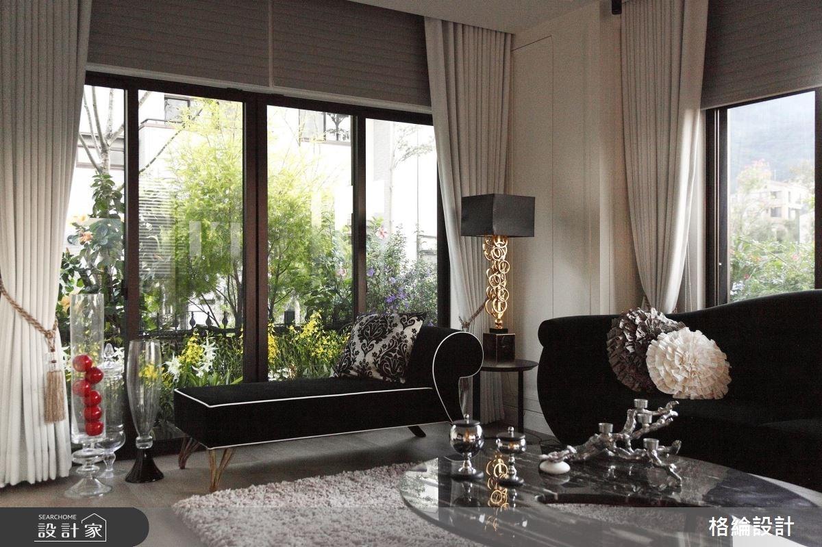 70坪新成屋(5年以下)_新古典客廳案例圖片_格綸設計 Guru Interior Design Consultant_格綸_09之2