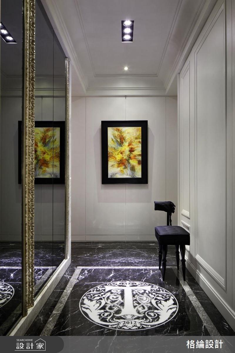 70坪新成屋(5年以下)_新古典玄關案例圖片_格綸設計 Guru Interior Design Consultant_格綸_09之3