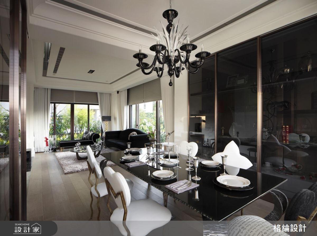 70坪新成屋(5年以下)_新古典餐廳案例圖片_格綸設計 Guru Interior Design Consultant_格綸_09之4