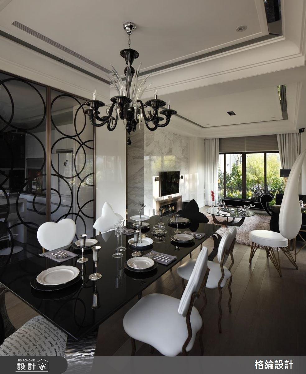 70坪新成屋(5年以下)_新古典餐廳案例圖片_格綸設計 Guru Interior Design Consultant_格綸_09之5