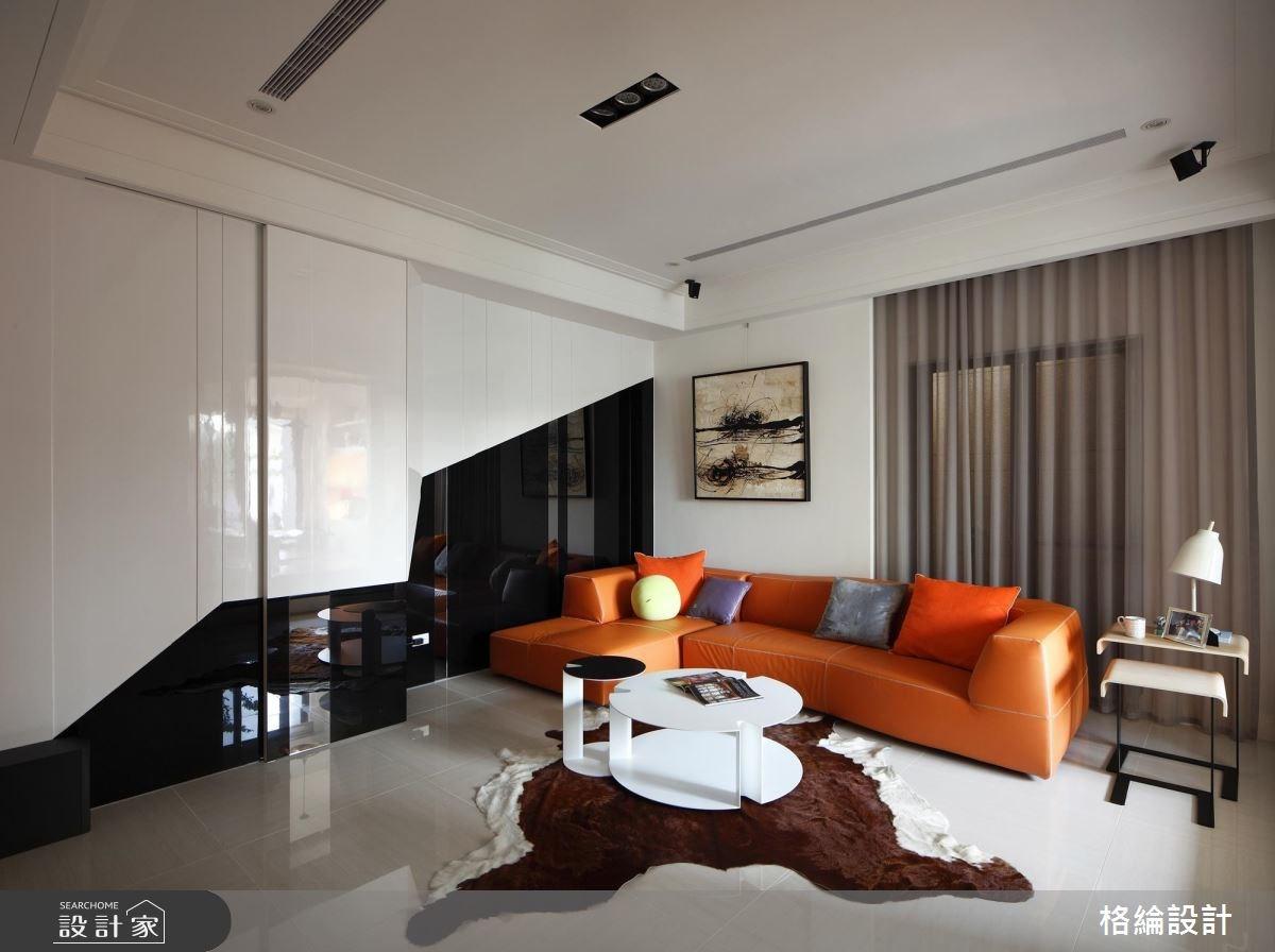 70坪新成屋(5年以下)_新古典客廳案例圖片_格綸設計 Guru Interior Design Consultant_格綸_09之8
