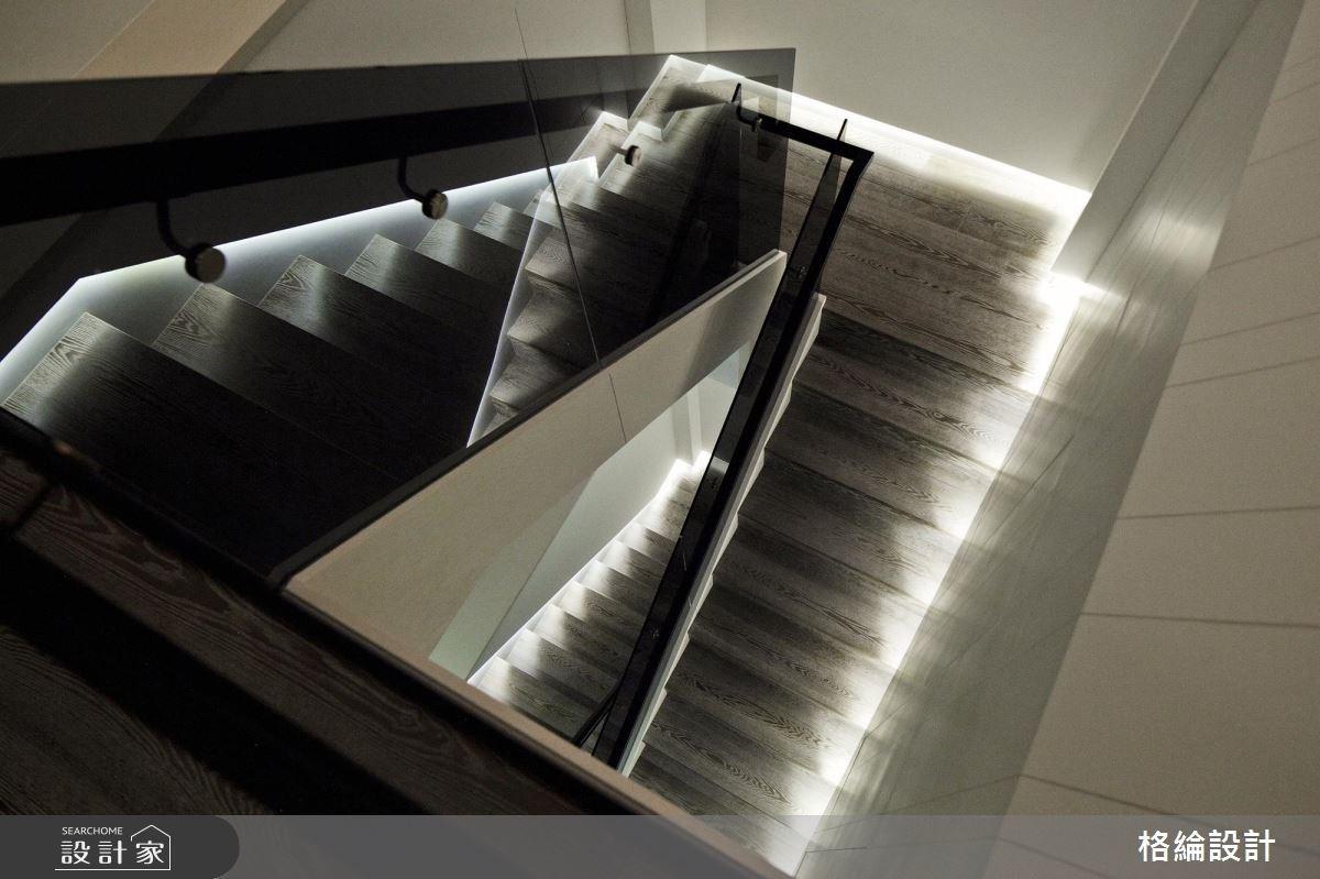 70坪新成屋(5年以下)_新古典樓梯案例圖片_格綸設計 Guru Interior Design Consultant_格綸_09之9