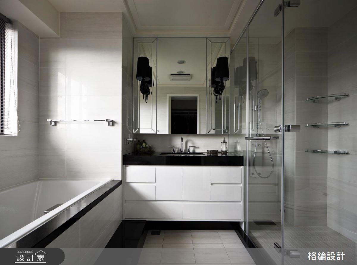 70坪新成屋(5年以下)_新古典浴室案例圖片_格綸設計 Guru Interior Design Consultant_格綸_09之11