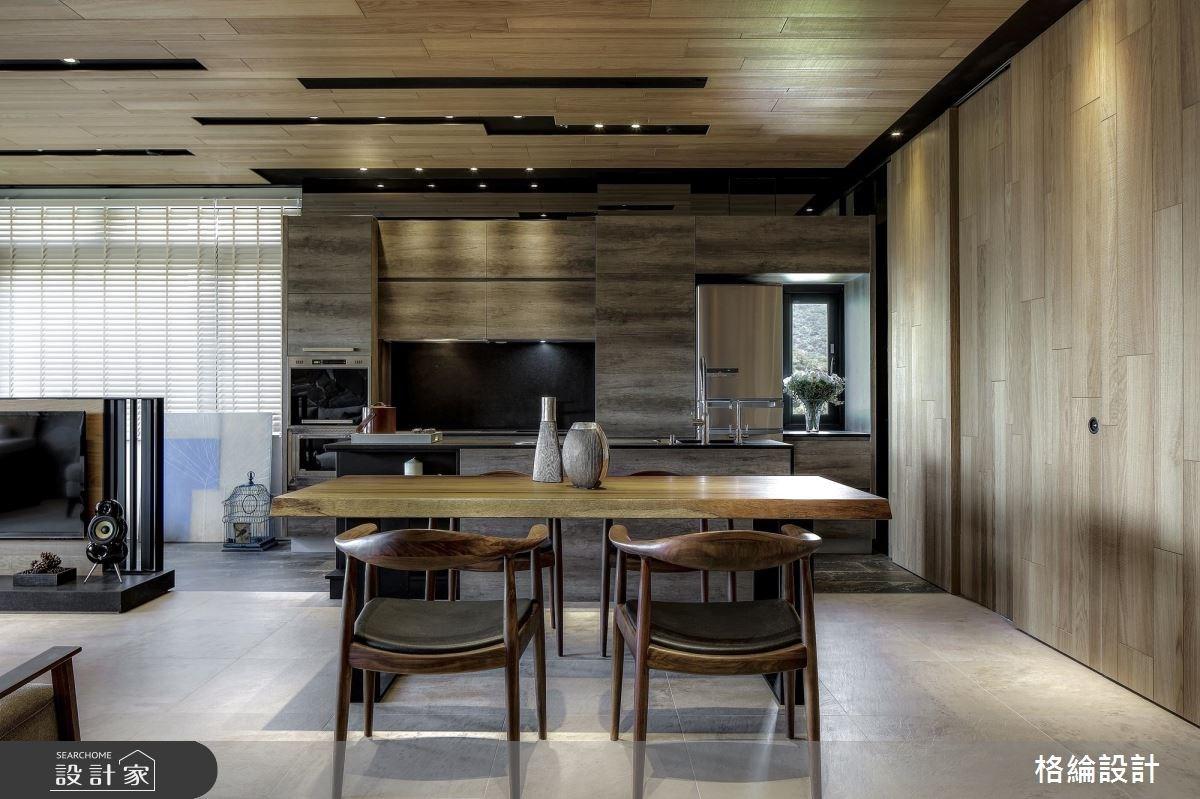 32坪老屋(16~30年)_休閒風餐廳廚房案例圖片_格綸設計 Guru Interior Design Consultant_格綸_11之2