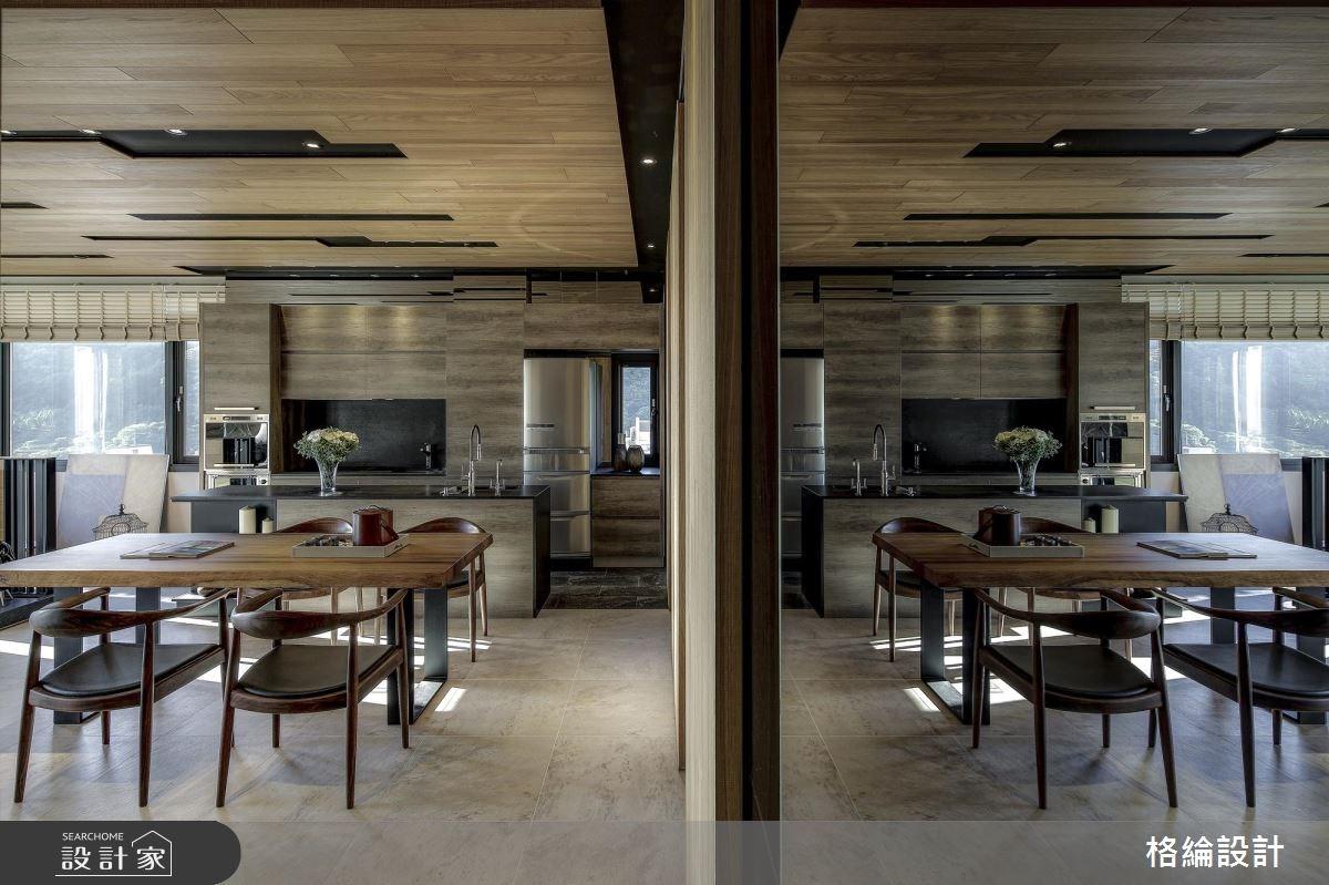 32坪老屋(16~30年)_休閒風餐廳廚房案例圖片_格綸設計 Guru Interior Design Consultant_格綸_11之4