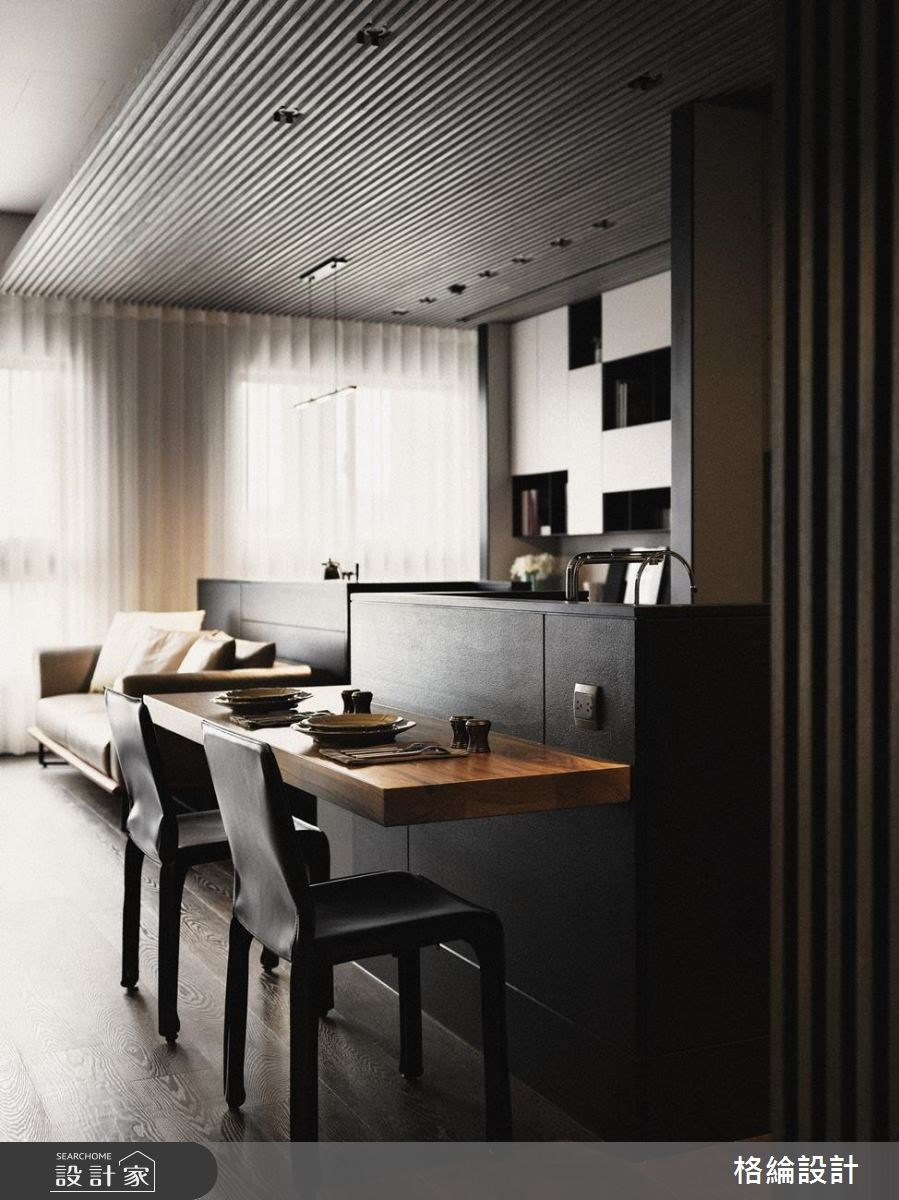 29坪新成屋(5年以下)_現代風客廳吧檯案例圖片_格綸設計 Guru Interior Design Consultant_格綸_16之4