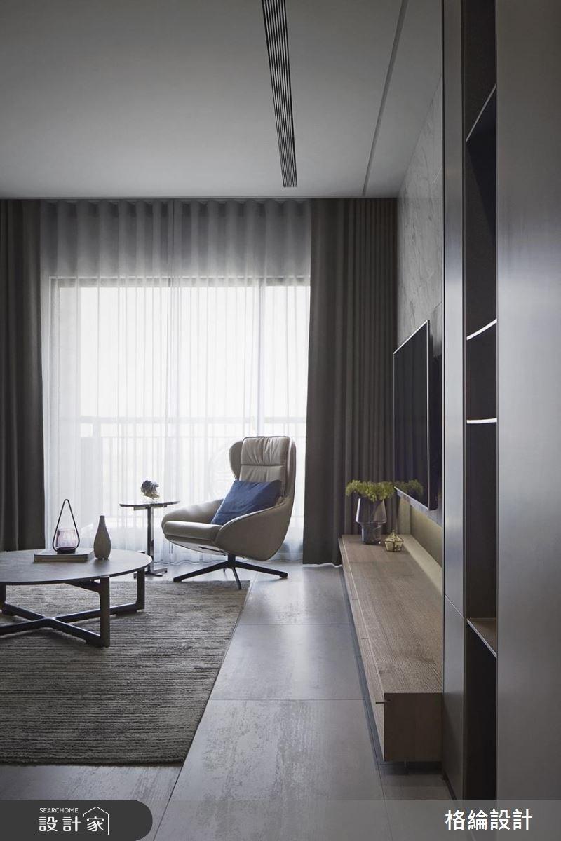 30坪新成屋(5年以下)_現代風客廳案例圖片_格綸設計 Guru Interior Design Consultant_格綸_19之1