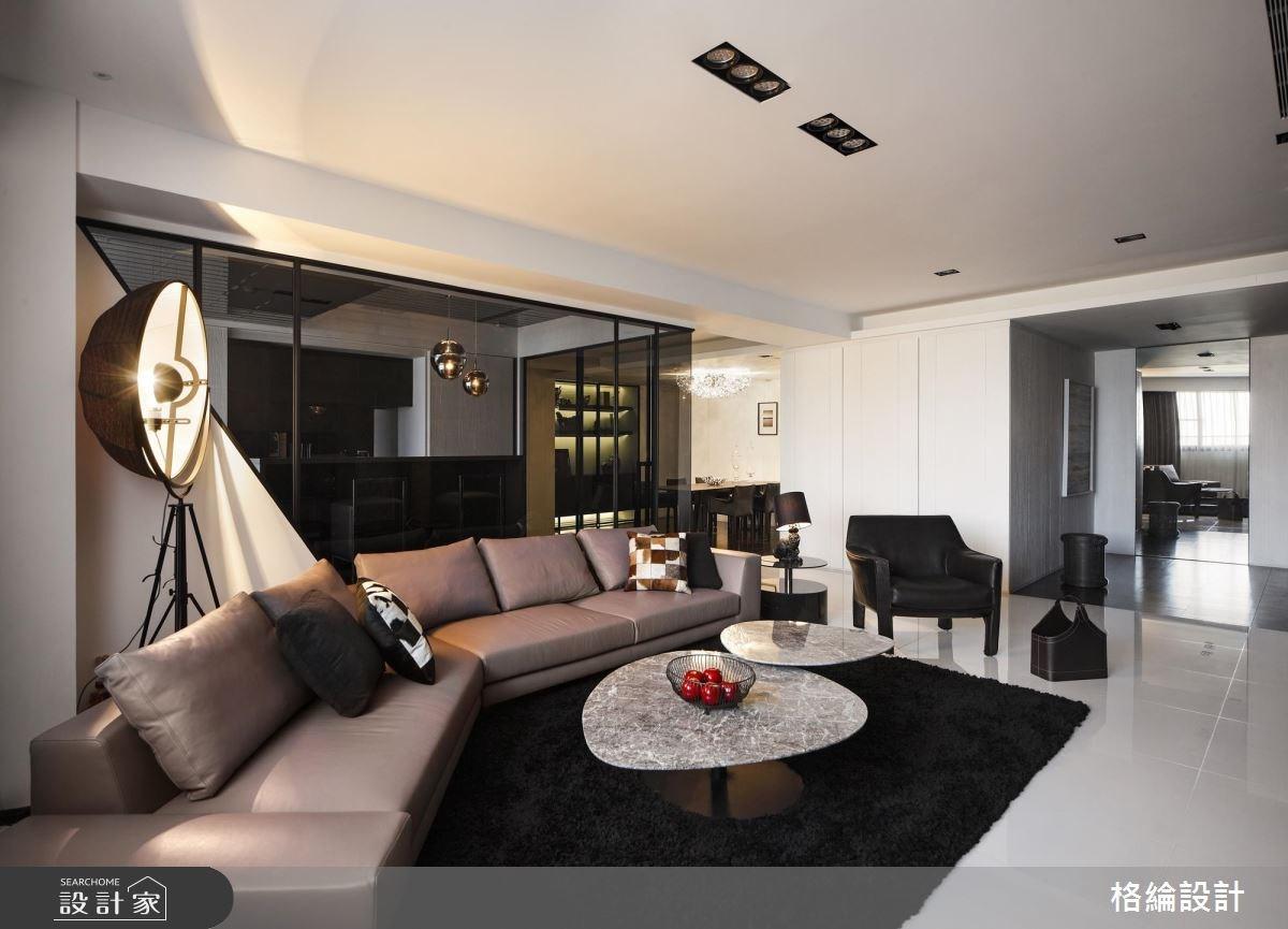 55坪新成屋(5年以下)_現代風客廳案例圖片_格綸設計 Guru Interior Design Consultant_格綸_21之2