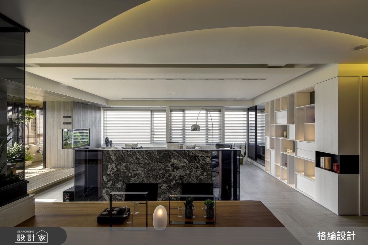 60坪新成屋(5年以下)_現代風客廳案例圖片_格綸設計 Guru Interior Design Consultant_格綸_22之8