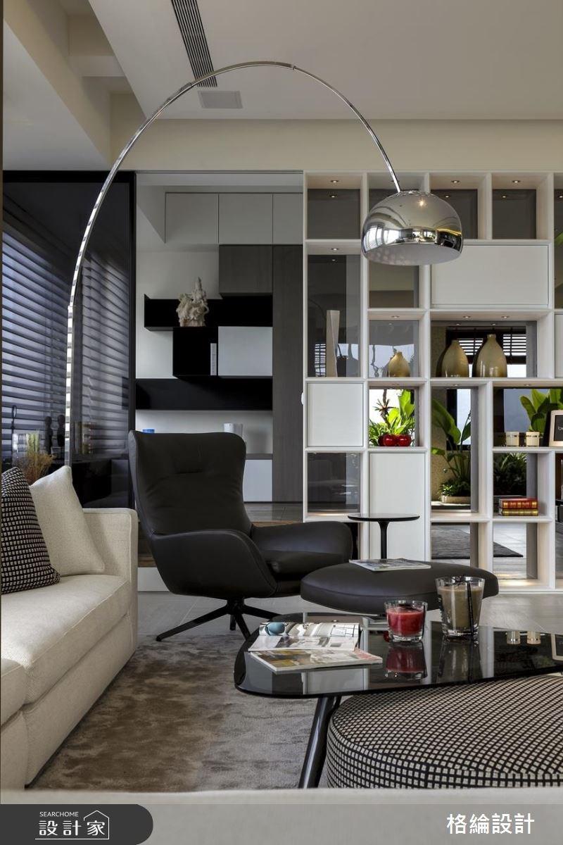 60坪新成屋(5年以下)_現代風客廳案例圖片_格綸設計 Guru Interior Design Consultant_格綸_22之9