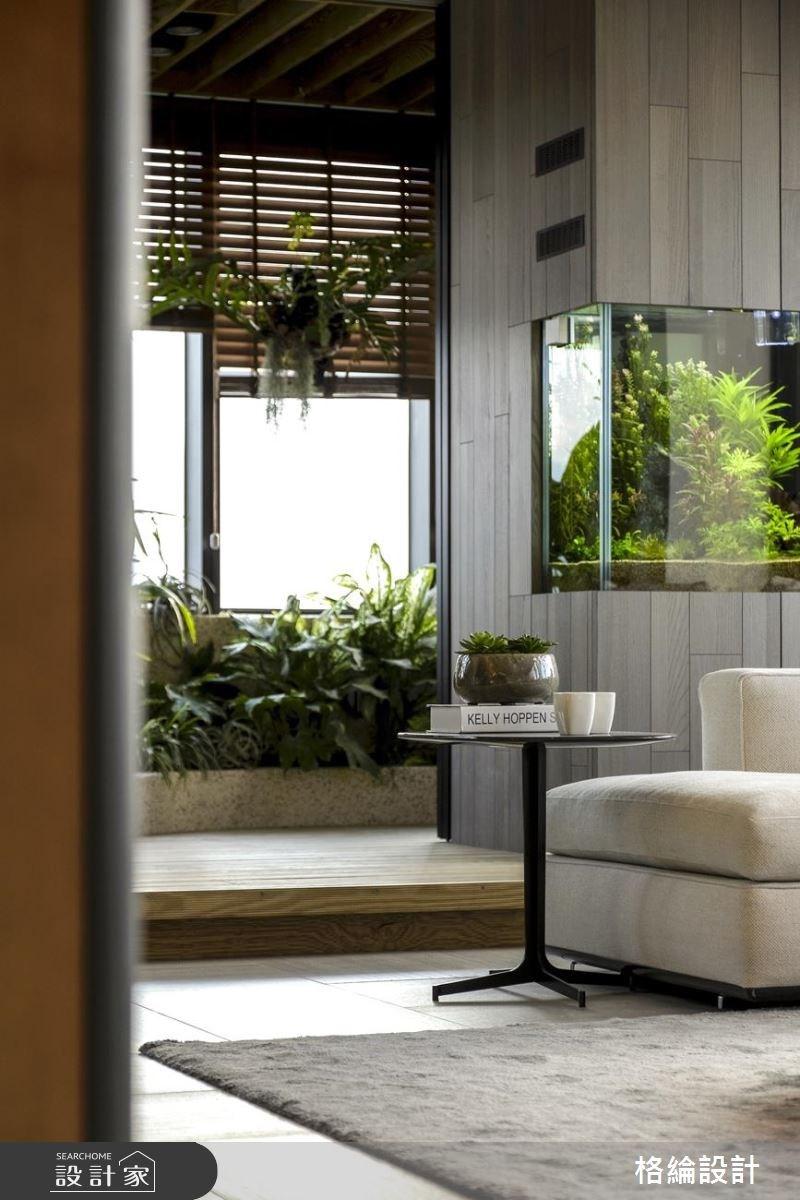 60坪新成屋(5年以下)_現代風客廳案例圖片_格綸設計 Guru Interior Design Consultant_格綸_22之11