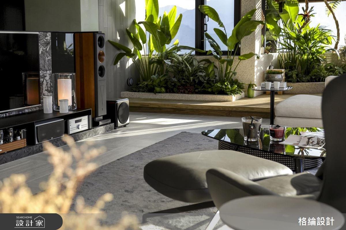 60坪新成屋(5年以下)_現代風客廳案例圖片_格綸設計 Guru Interior Design Consultant_格綸_22之12