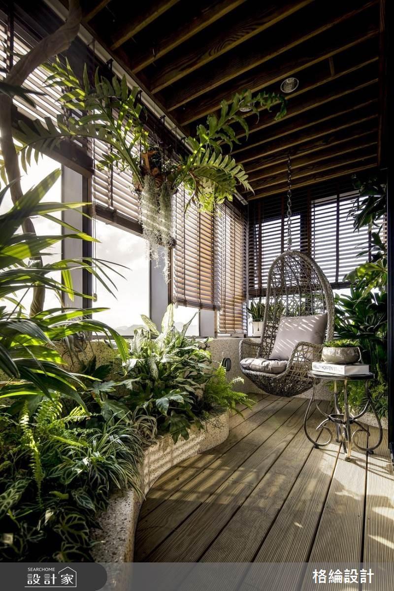 60坪新成屋(5年以下)_現代風庭院案例圖片_格綸設計 Guru Interior Design Consultant_格綸_22之14