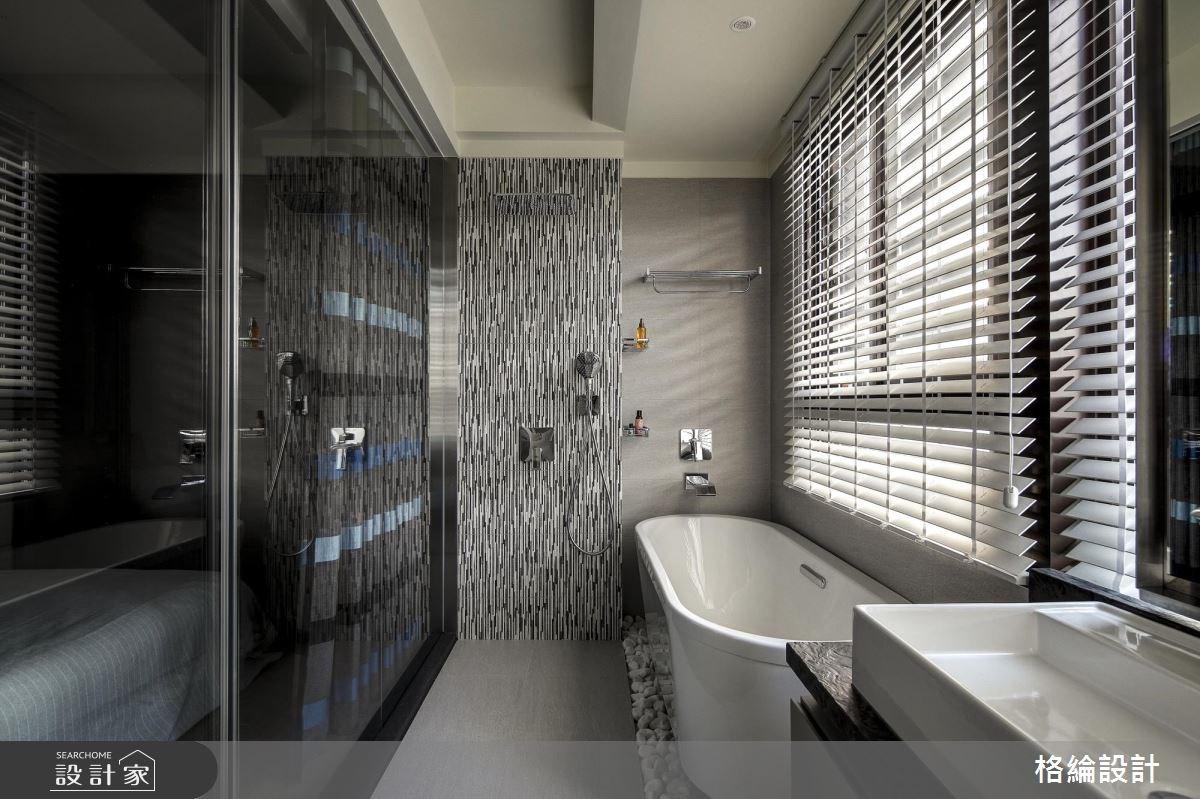 60坪新成屋(5年以下)_現代風浴室案例圖片_格綸設計 Guru Interior Design Consultant_格綸_22之16