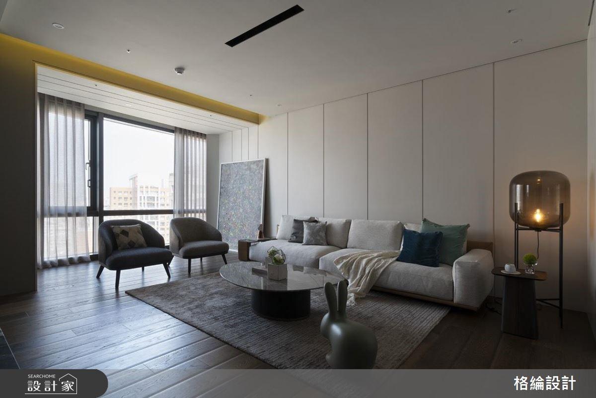 48坪新成屋(5年以下)_現代風客廳案例圖片_格綸設計 Guru Interior Design Consultant_格綸_23之3