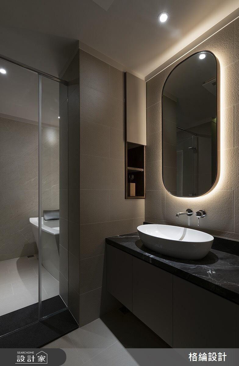 48坪新成屋(5年以下)_現代風浴室案例圖片_格綸設計 Guru Interior Design Consultant_格綸_23之13