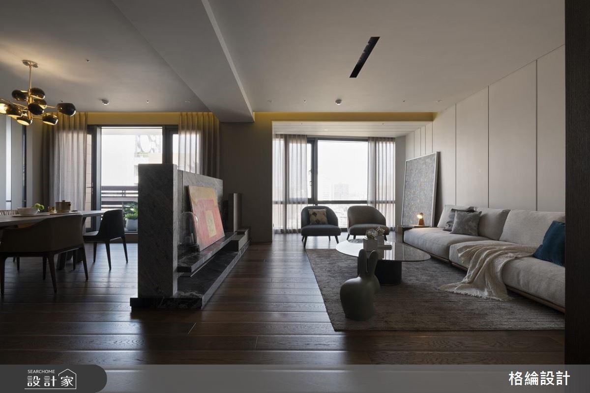 48坪新成屋(5年以下)_現代風客廳案例圖片_格綸設計 Guru Interior Design Consultant_格綸_23之2