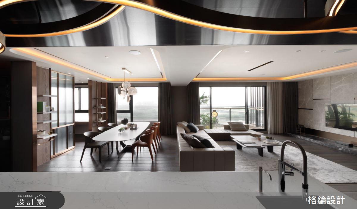 65坪_現代風客廳案例圖片_格綸設計 Guru Interior Design Consultant_格綸_24之3