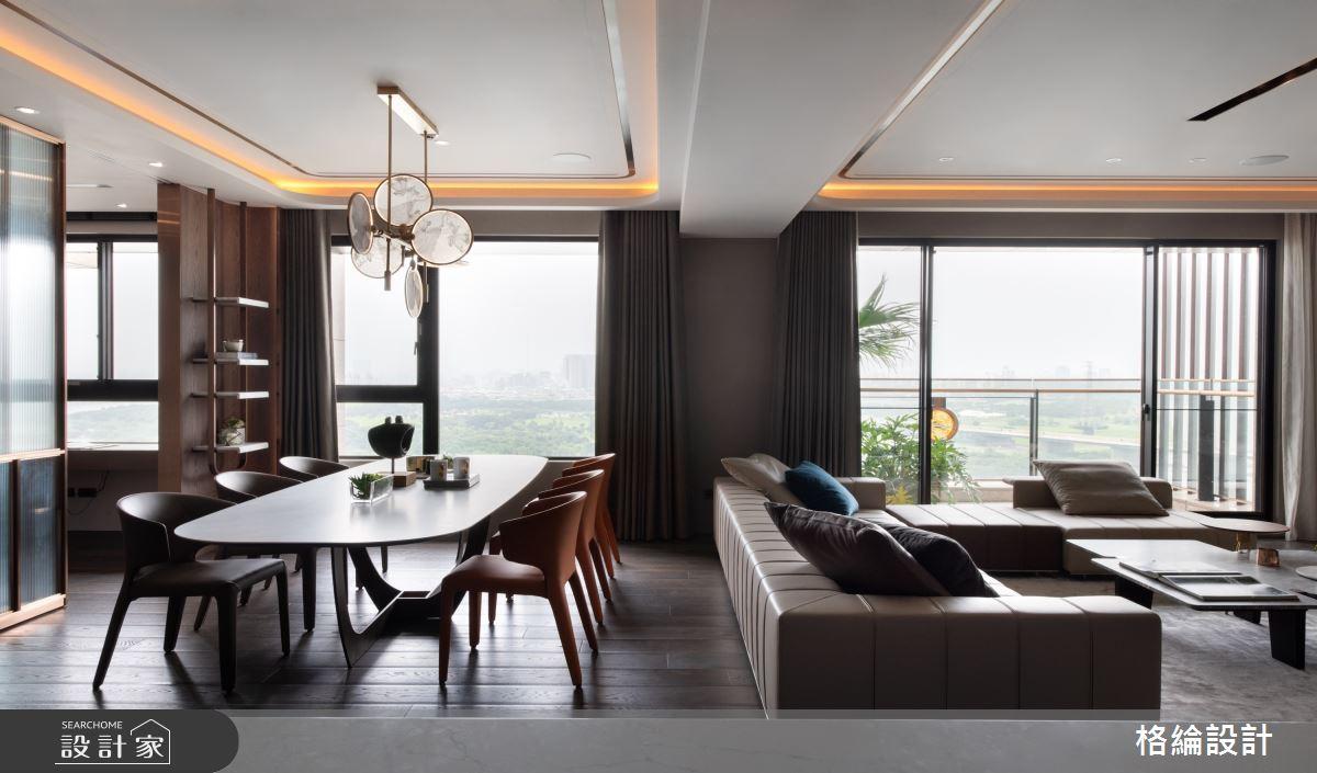 65坪_現代風餐廳案例圖片_格綸設計 Guru Interior Design Consultant_格綸_24之4